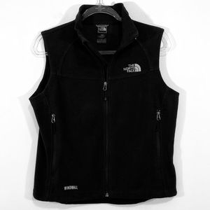 THE NORTH FACE   windwall black vest jacket M